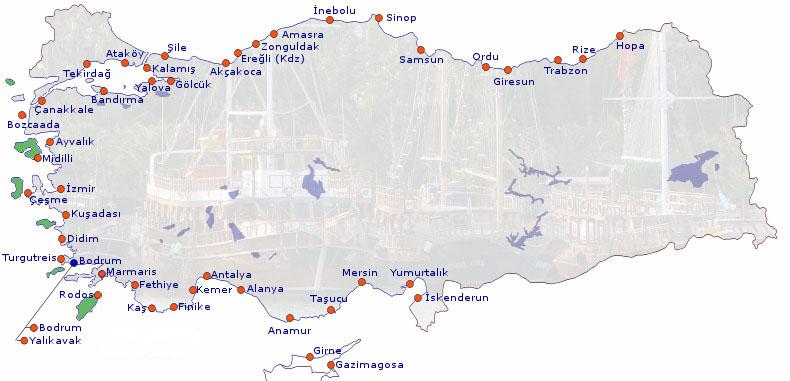 ATAKÖY (İstanbul) Marina İçin 3 Günlük Tahmin