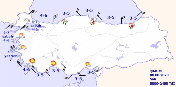 gun1buyuk Denizlerde Rüzgar Tahmini Veriler