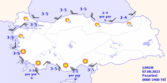 gun3buyuk Denizlerde Rüzgar Tahmini Veriler