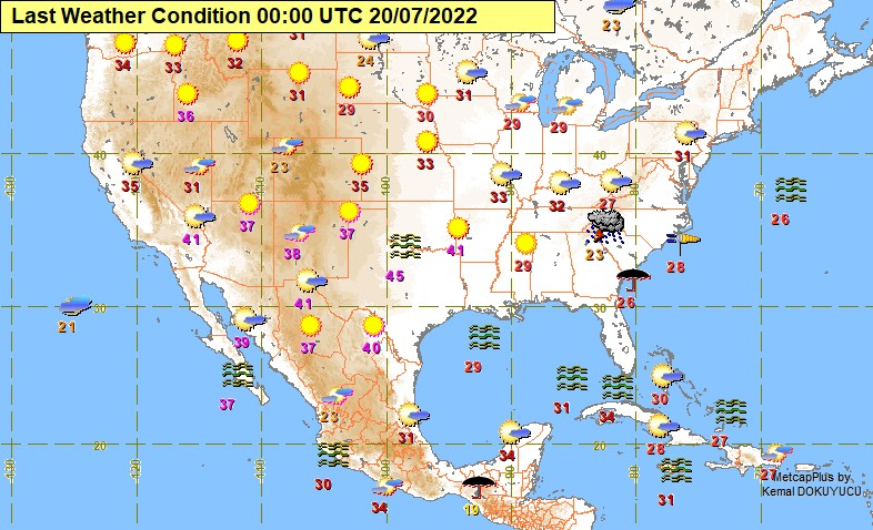 The Latest Weather Turkish State Meteorological Service