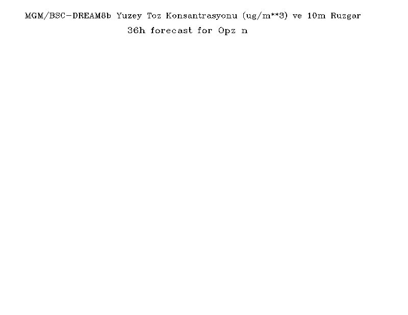 Yüzey Toz Konsantrasyonu Haritası