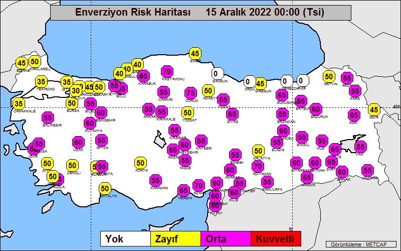 Enverziyon Risk Haritası
