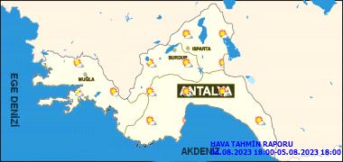 Antalya'da Bugün