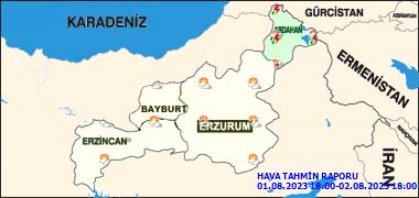 Erzurum'da Bugün