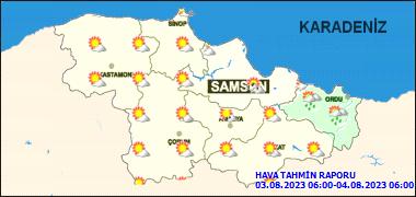 Samsun'da Bugün