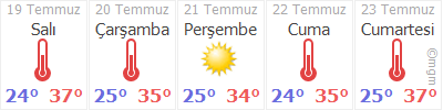 Adana Sarıçam Hava durumu