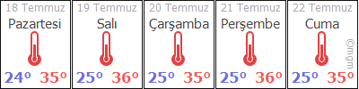 AdanaSarýçamÇaylý hava durumu