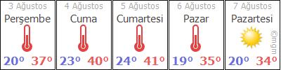 ManisaSarýgölGünyaka hava durumu